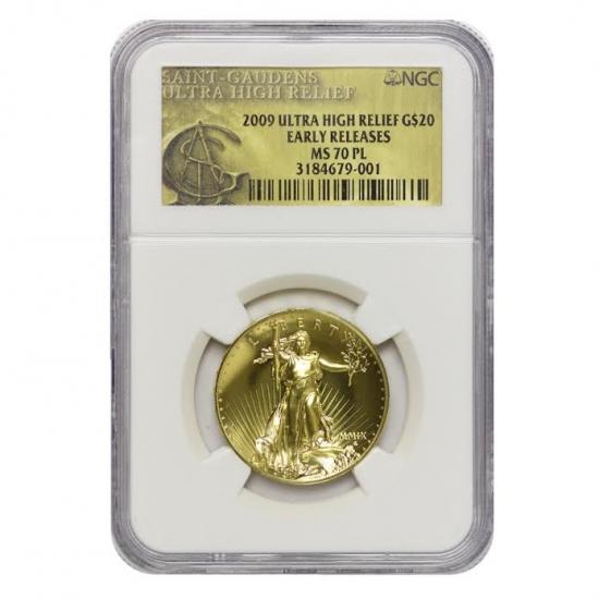 引用:野口コイン株式会社 2009 ウルトラハイレリーフ NGC MS70