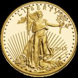 イーグル金貨 表